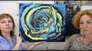 Клубные встречи Wings of Art №21 Творческие техники релакса, акриловые чернила и гелевые пластины