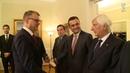 Mattarella incontra il Primo Ministro, Juha Sipilä.