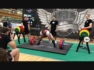 Никулин Алексей становая тяга 315 кг