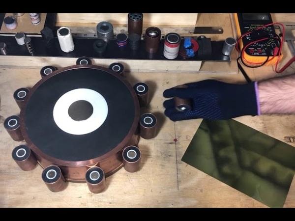 Johan Searl Generator SEG by hands Part 3