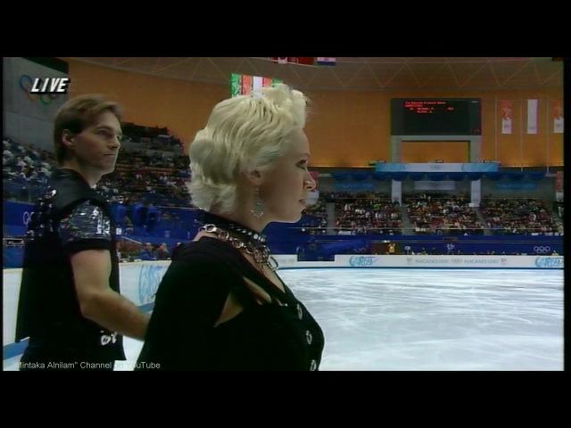 [HD] Pasha Grishuk and Evgeni Platov - 1998 Nagano Olympics - OD