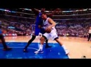 Serge Ibaka throws a roundhouse punch to Blake Griffin's crotch.