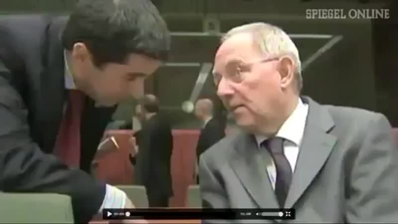 Zur Erinnerung - Schäuble spricht einfach darüber, dass er die Bürger verarscht
