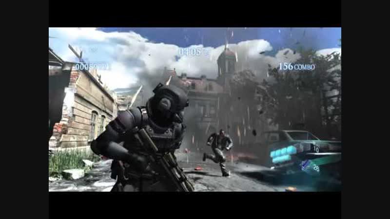 RESIDENT EVIL 6 PS4 mercenaries no mercy as AGENT - Requiem for war