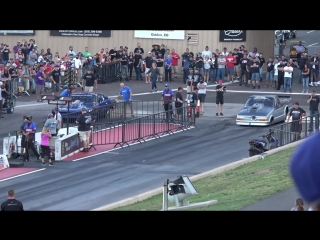 Doc Street Beast vs Larry Larson for 5,000 Outlaw Big Tire final at Colorado NO