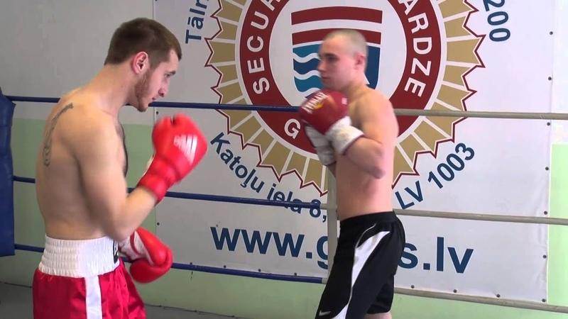 Olegs Vilcans (Latvija,Riga) VS Ivans Levickis (Latvia, Daugavpils) 01.04.2014 proboxing.eu