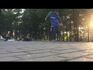 DeLise -3 years of training block football freestyle