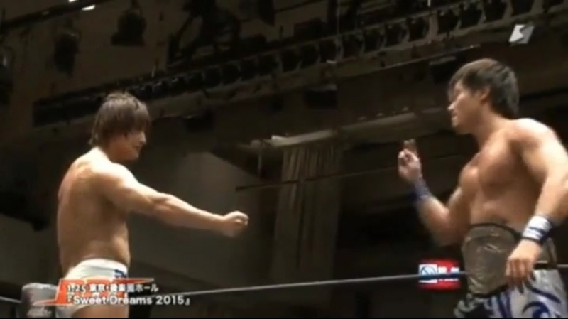 There is no way to beat Kota Ibushi in Rock-Paper-Scissors.
