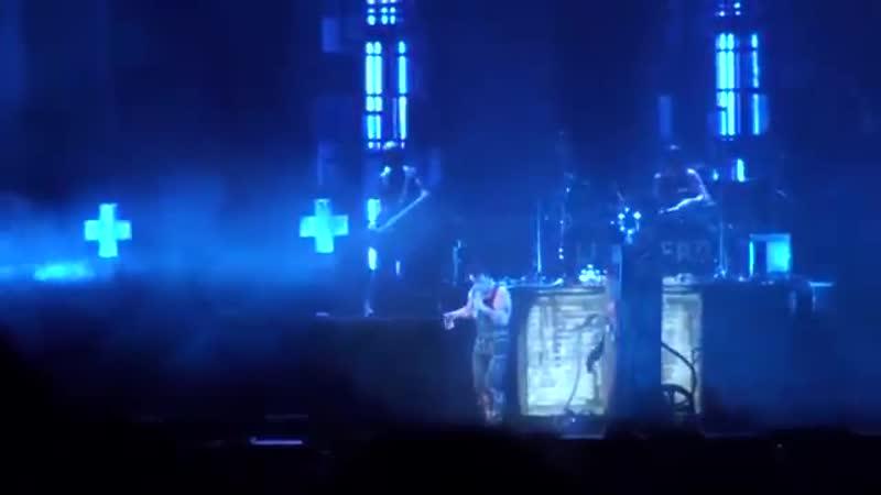 10 RAMMSTEIN Benzin live in Canada on FESTIVAL D'ETE DE QUEBEC 18 07 10
