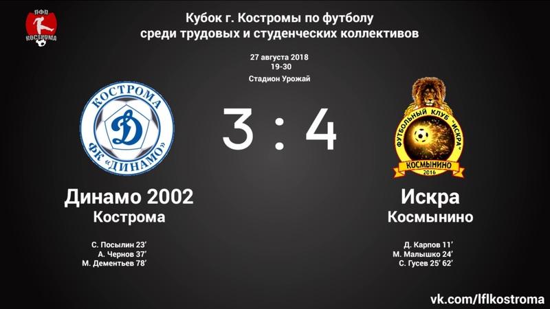 Динамо 2002 Кострома - Искра Космынино