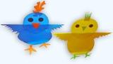 DIY Rocking Chick Paper Craft Origami For Kids Mr paper crafts