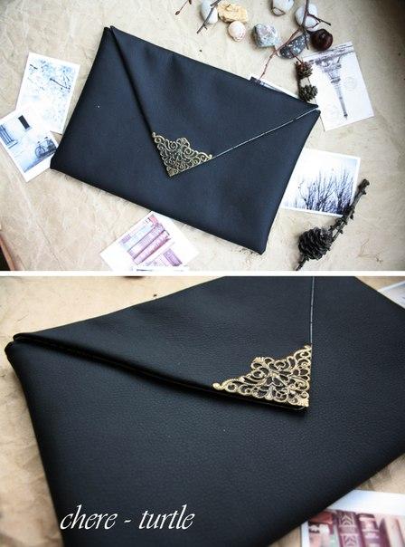 Клатч конвертом своими руками