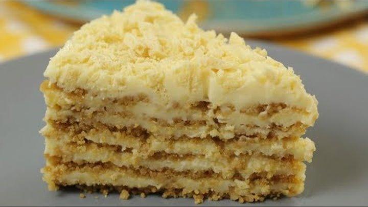 БЕЗ ДУХОВКИ и ПЕЧЕНЬЯ ОБАЛДЕННЫЙ торт ПЛОМБИР. Остановиться НЕВОЗМОЖНО