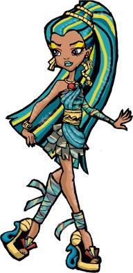 Нефера Де Нил одевалка и макияж