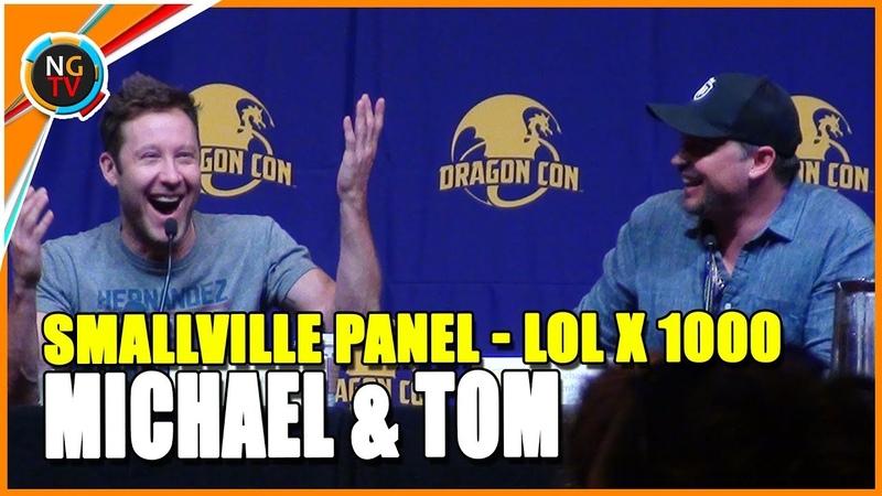 Smallville Panel Tom Welling Michael Rosenbaum El Mejor Panel De La Historia LOL