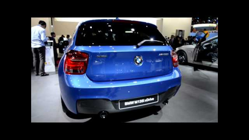 BMW M135 xDrive at Paris Auto Show