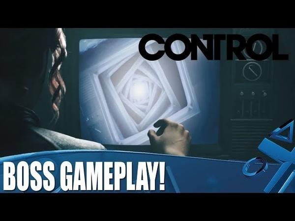 Новый геймплей Control, в котором показали сражение с боссом