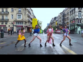 [KPOP IN PUBLIC CHALLENGE  BRUSSELS] BLACKPINK - Forever Young Dance Cover