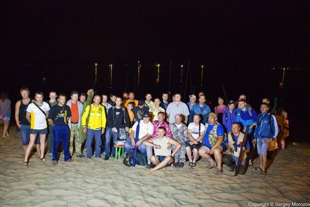 Любительское соревнование по ловле ночного судака на набережной