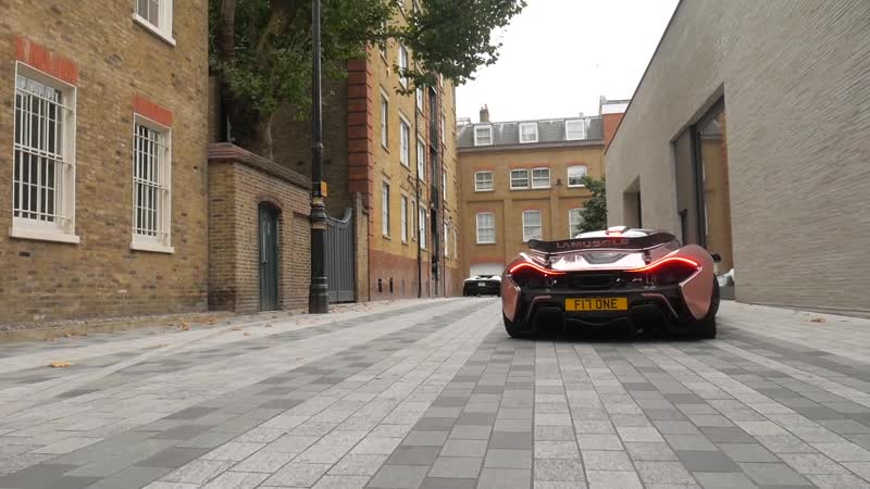 McLaren P1 Hypercar wrapped Chrome Rose Gold shown off by Millionaire