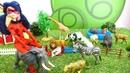 Леди Баг спасает зоопарк. Видео с игрушками для девочек