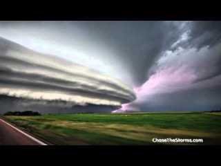 Ураганы в Дакоте, ужас! Scary Storm South Dakota!