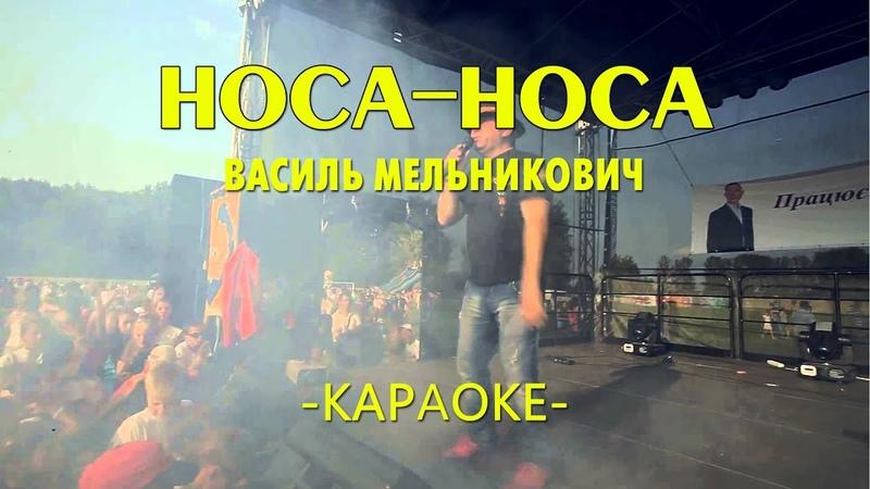 Носа носа - Василь Мельникович (Караоке)
