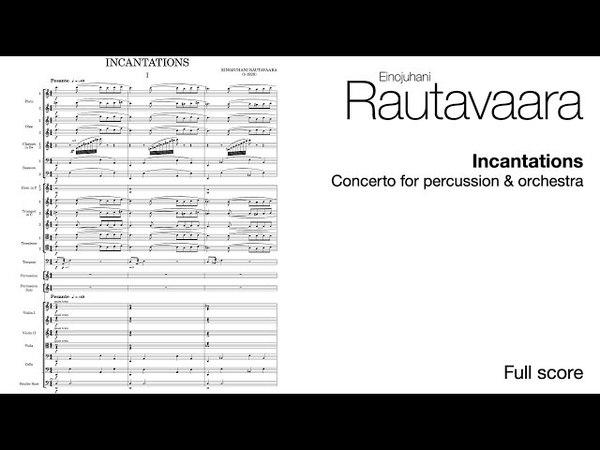 Einojuhani Rautavaara - Percussion Concerto