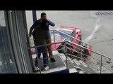 ДТП с 18-летним мажором на красном спорткаре в Туле попало на видео