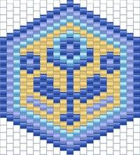"""Схема серег  """"Цветение """".  Pattern beaded earrings beadweaving peyote delica beads beadwork."""