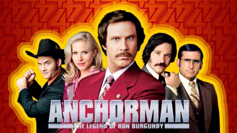621: Телеведущий: Легенда о Роне Бургунди / Anchorman: The Legend of Ron Burgundy / 2004 / Адам МакКей (Trailer)