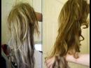 Как завить искусственный парик утюгом