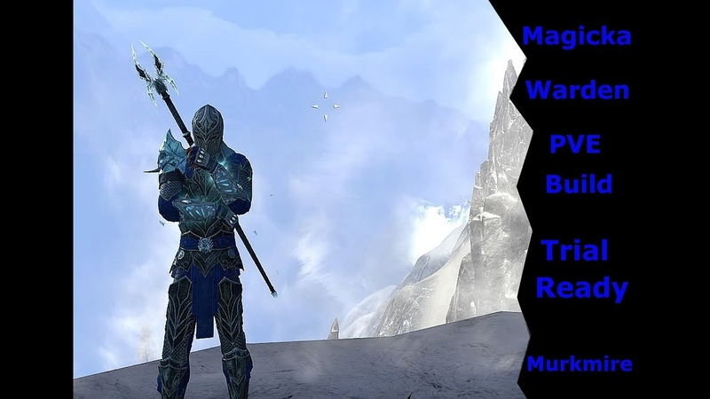 ESO Magicka Warden pve dps build (Murkmire)