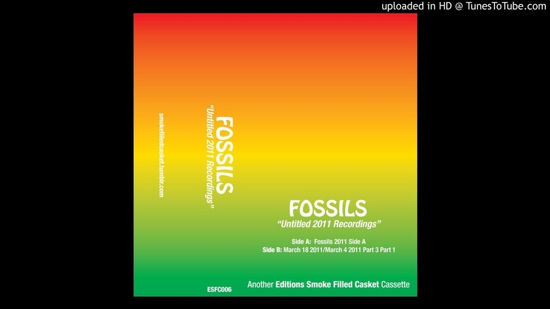Fossils - Untitled 2011 Recordings: 2011 side A