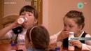 В рацион айхальских школьников ввели молочную продукцию