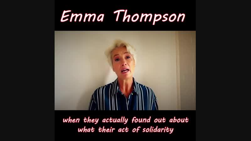 Emma Thompson on the new film documentary Nae Pasaran!