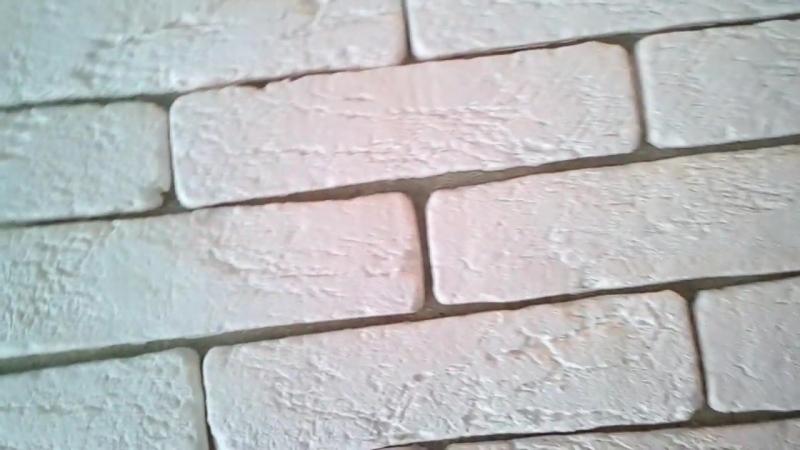 Венецианский кирпич под покраску гипсовый декоративный камень