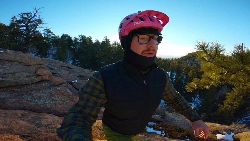 Marmot Passage   Staunton State Park   Fat Bike   Sunrise