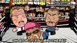 Chibi Wrestlers - HappyScary Dean Ambrose and Seth Rollins #18 The Contract (WWE Parody)