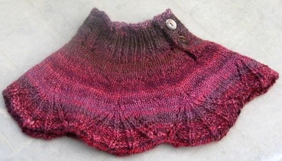 Delicadezas en crochet Gabriela: Cuello en dos agujas para ver ...