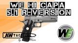 Страйкбольный пистолет WE Hi Capa 5.1 R-Version AW6180