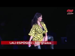 LALI ESPÓSITO EN EL EVENTO DE ANIVERSARIO DE OYE 89.7 FM