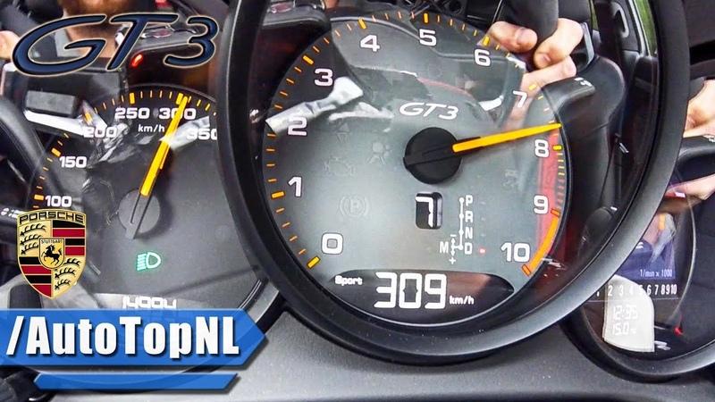 Porsche 911 GT3 991.2 0-300km/h ACCELERATION LAUNCH CONTROL by AutoTopNL