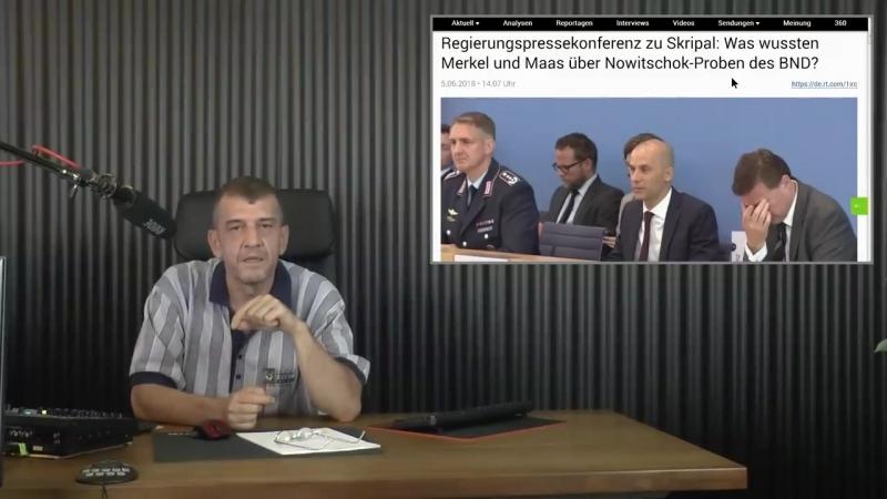 BAMF 2. Betrug mit Schein-Ehen - Auch BND hat Nowitschok - Neues Nato Logistikzentrum