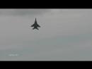 Взлёт МиГ 29 с вертикальным набором высоты и жалкая попытка F 22 RAPTOR повторить этот маневр