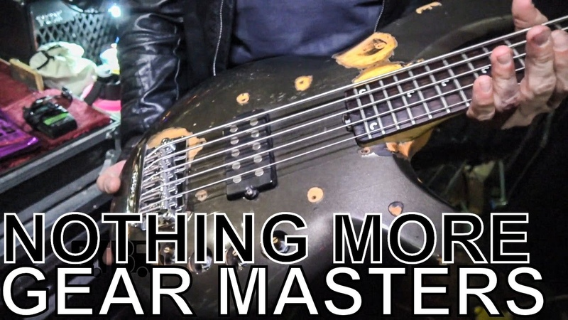Nothing More's Daniel Oliver - GEAR MASTERS Ep. 270