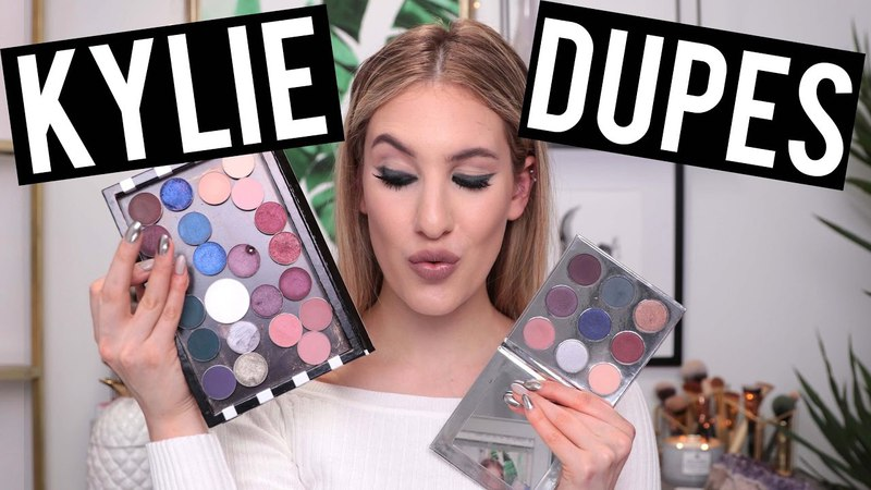 KYLIE JENNER HOLIDAY Palette: DUPES For EVERY SHADE   Drugstore High End   Jamie Paige