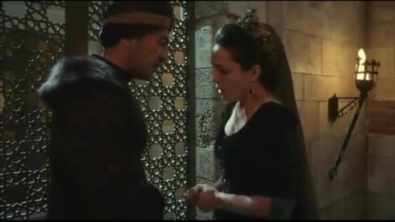 -Мы пропали Дервиш, разговор Хандан Султан и Дервиша _ великолепный век кесем