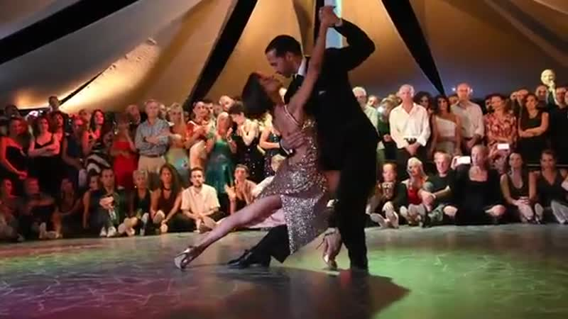 Tango Aquaforte Gustavo Rosas y Gisela Natoli