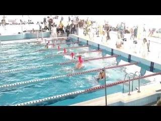 50 метрів брас дівчата Національний Кубок України з плавання 2013/11/1—4